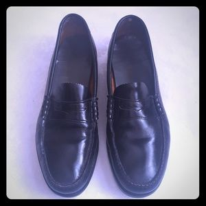052779bf4 🔵Dexter Handsewn Black Leather Penny Loafer